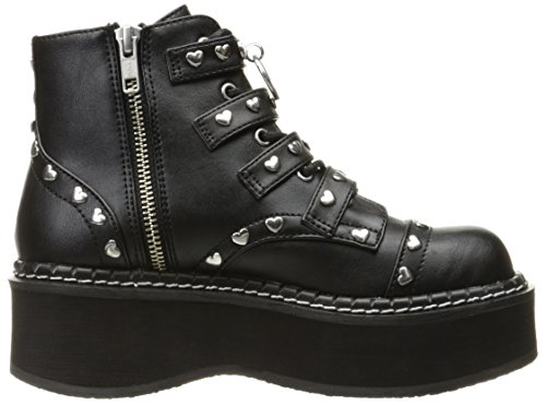 Emily Blk Vegan Demonia Leather 315 vSwRqz