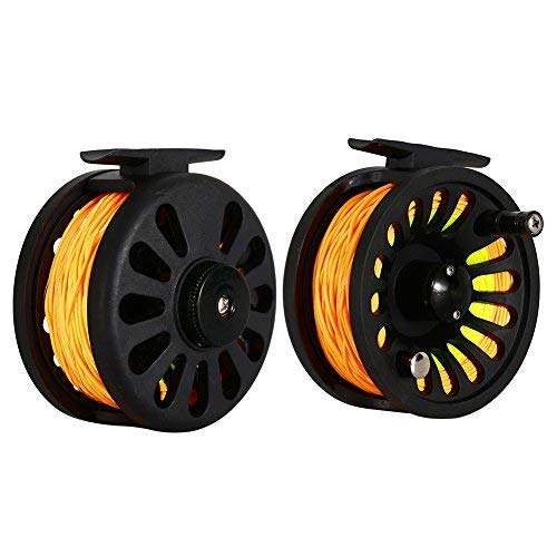 RONSHIN Bearing Fly Fishing Reel Fishing Line + Extension Line+Taper Leader+Tippet Set