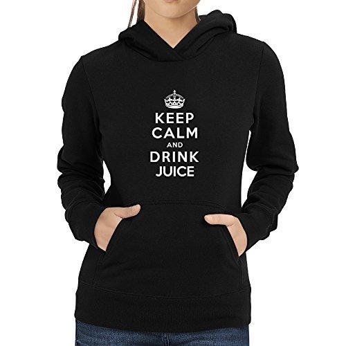Eddany Keep calm and drink Juice Women Hoodie