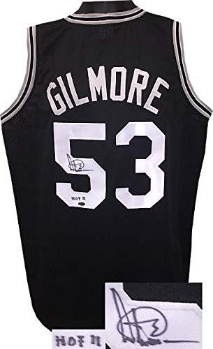Signed Artis Gilmore Jersey - Black TB Custom Stitched HOF 11 XL Leaf  Hologram - Autographed 60a0be3ee