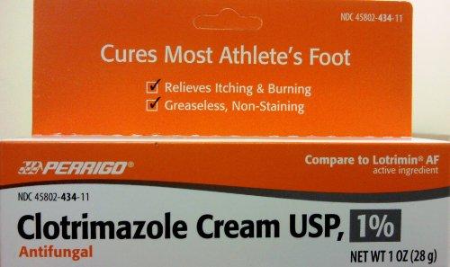 Clotrimazole crème anti-fongique USP 1% en Lotrimin Générique - 1 Oz