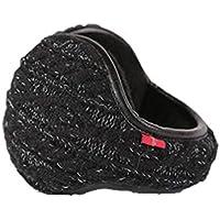 DOLA Fleece Ear Muffs/Ear Warmers Foldable - Behind The Head Style Winter Plaid Earmuffs Adjustable Wrap for Men & Women