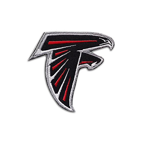 Nfl Atlanta Falcons Logo Embroidered Patch Badge Iron On Sew On