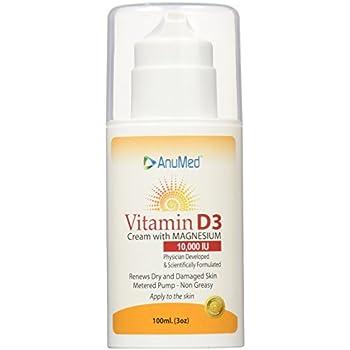 Vitamin D3 Travel AnuMed Intl 1.2oz Cream Image Skincare Ormedic Balancing Bio Peptide Facial Cream, 2 Oz