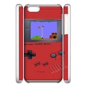 iphone5c Phone Case White Game boy Super Mario Bros UYUI6788085