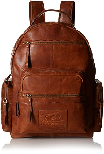 Rawlings Rugged Backpack, Cognac, One Size by Rawlings