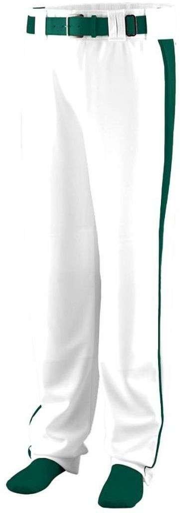 Augusta SportswearメンズTriple Play Baseball Pant B00HJTOGWI M|ホワイト/ダークグリーン ホワイト/ダークグリーン M