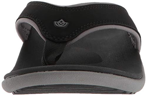 Spenco Women's Yumi Plus Sandal, Onyx 6 Wide US by Spenco (Image #4)