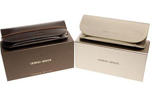 Green Sol para Gafas de Armani Brown Hombre Striped Giorgio Marrón tHzqxxIw