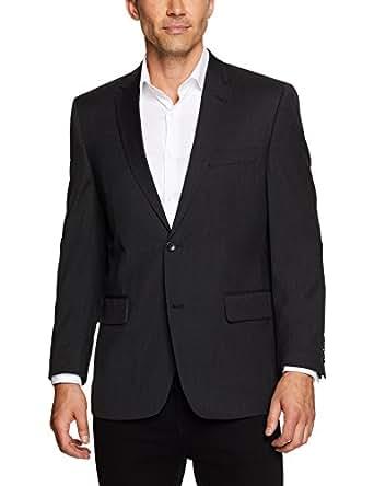 Van Heusen Men's Euro Fit Suit Jacket, Charcoal Grey, 100 Regular