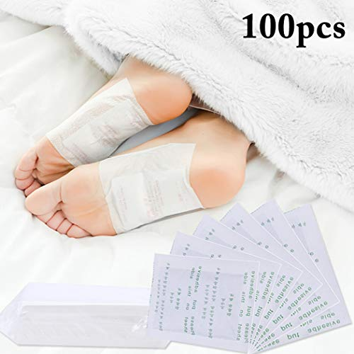 - Foot Pads, Kapmore 100Pcs Pain Relief Foot Care Pads Health Care Pads with 100Pcs Adhesive Sheets for Foot Care, Sleeping & Anti-Stress Relief