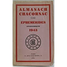 Almanach Chacornac éphémérides astronomiques 1973