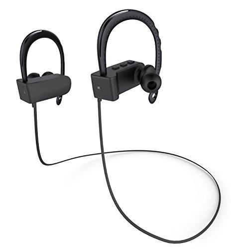 OUCOMI Bluetooth Headphones Microphone Black