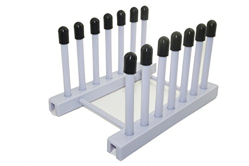 47cm Length x 18cm Width x 48cm Height Accurate Wirecraft 901807BK Vinyl Coated Steel Wire Draining and Drying Rack Black