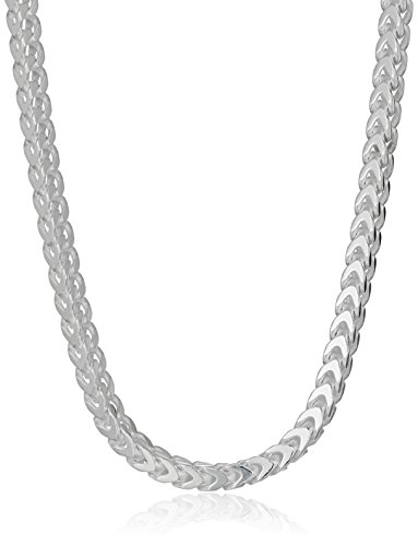 Sterling Silver 2 4mm Franco Necklace