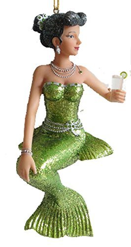 December Diamonds Gin Mermaid Ornament