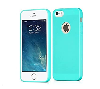 sale retailer 81814 d4919 Egotude Back Cover for Apple iPhone 5, 5S and SE (Mint Green)