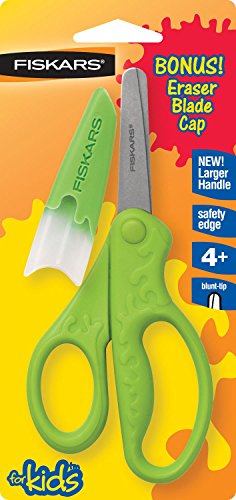 afety Scissors, Blunt, 5 in. Length [Set of 3] 5 ()