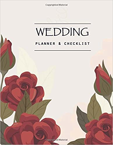 amazon com wedding planner checklist wedding planning book