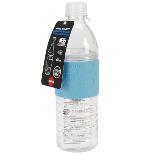 Copco Hydra Resuable Water Bottle, 16.9-Ounce, Blue