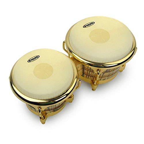 (Evans Tri-Center Bongo Drum Head Pack, 7 1/4 and 8 5/8 Inch)