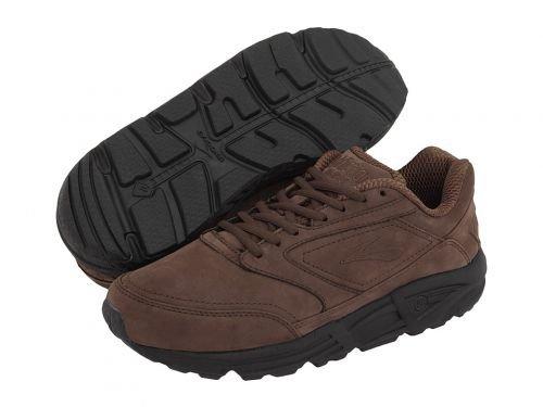 Brooks(ブルックス) メンズ 男性用 シューズ 靴 スニーカー 運動靴 Addiction(TM) Walker - Brown Nubuck [並行輸入品] B07BMFX3KB 7.5 EE - Wide