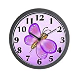 CafePress – Purple Butterfly Wall Clock – Unique Decorative 10″ Wall Clock Review