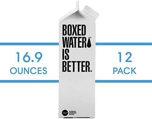 Water: Boxed Water Is Better