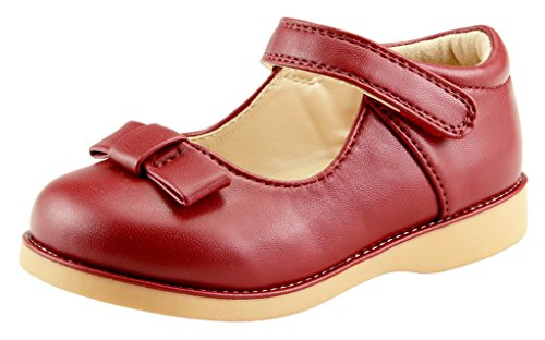 The Doll Maker Girl's Mary Jane - TD173039H-9 Red Wine (Shoes Girls Doll For)