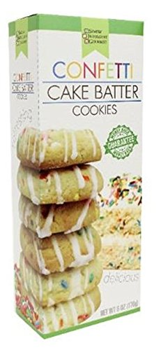 6 oz. Cake Batter Cookies (Confetti)