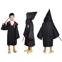 HP2 Harry Potter Costume Kids Children Robe ALL 4 HOUSES S-XXL USA