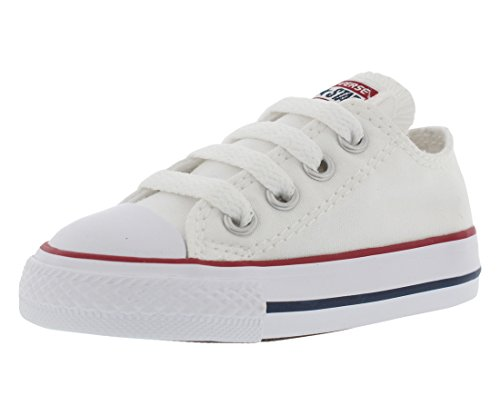 Converse Unisex Child Infant/Toddler Chuck Taylor All Star Ox - White - 8 -