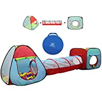 Kiddey Childrens Play Tent with Tunnel Deals
