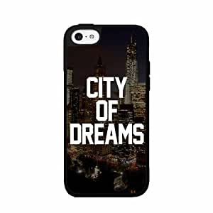 City of Dreams 2-Piece Dual Layer Phone Case Back Cover iPhone 5 5s
