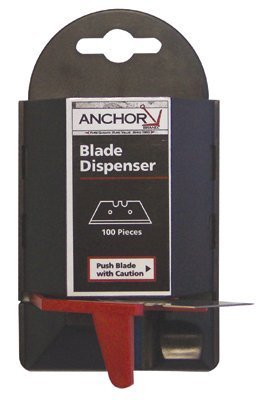 Blade Dispenser Containers, 5.5 in, Steel (1800 Pack)