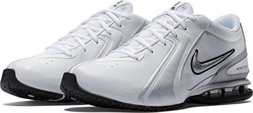 Leather III Reax Metallic Men's Trainer Training NIKE Silver Synthetic Shoe White wqZUXTt