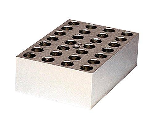 アナテック3-5204-11電子冷却ブロック恒温槽用アルミブロック(クールスタット)1.5mL用28穴 B07BD31H4Y