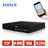 JOOAN 8CH H.264 ONVIF NVR 720P/1080P Network Video Recorder CCTV IP Camera System HD Surveillance Recorder for Security Network Camera