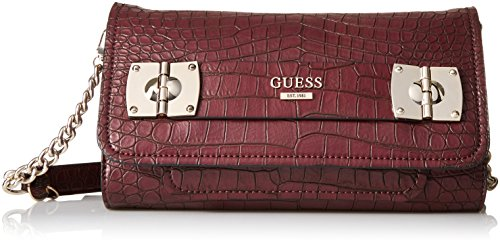 GUESS Frankee Croco Crossbody Clutch