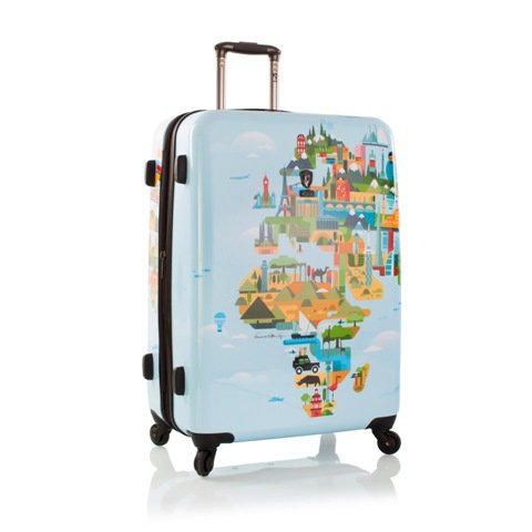 FVT World Map 30'' Spinner Suitcase by HEYS AMERICA