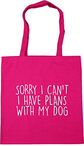 My Sorry Beach 42cm 10 Tote x38cm With Plans Gym Dog HippoWarehouse Can't I Fuchsia Have Shopping litres I Bag q0wn7qx6ad