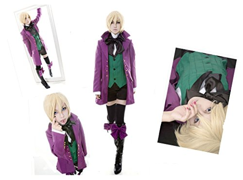 Alois Trancy Costume (Black Butler Alois Trancy Version 3 cosplay costume New)