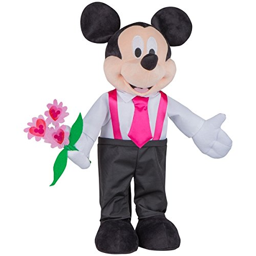 Mickey Mouse Holiday Heart I love You 24'' Porch Greeter (Mickey Mouse Formal Wear)