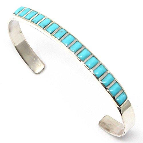 L7 Enterprises Zuni Multi-Color Inlay Bracelet by Luna | 5