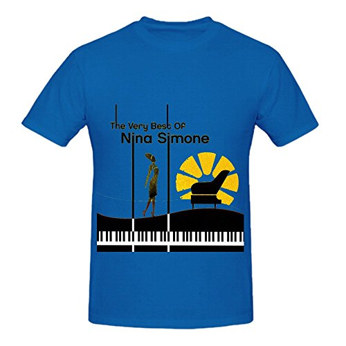 Nina Simone The Very Best Of Greatest Hits Men Cotton Tee Shirts