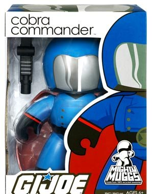 - G.I. JOE Series 1 Mighty Muggs Figure Cobra Commander