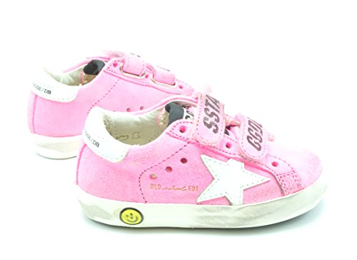 Sneakers Star White School Goose Superstar Old G30KS021 Suede B3 Kids Pink Golden OETwqHx