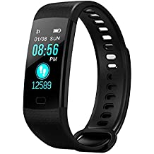 MOMIKA Smart Watch, Sports Fitness Activity Tracker Heart Rate Blood Pressure Monitor Watch