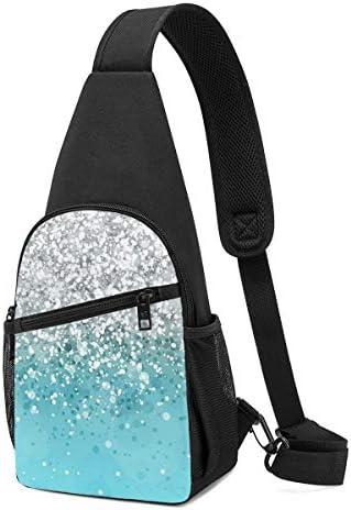 ボディ肩掛け 斜め掛け キラキラ ショルダーバッグ ワンショルダーバッグ メンズ 軽量 大容量 多機能レジャーバックパック