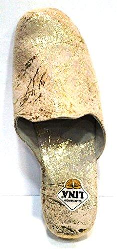 Para Mujer Lina Por Dorado Casa Zapatillas De Estar 37 WnXOq7RXYw